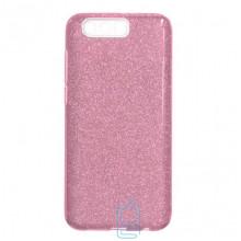 Чехол силиконовый Shine Huawei Honor 9 розовый