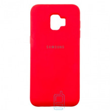 Чехол Silicone Case Full Samsung J2 Core 2018 J260 красный