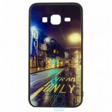 Чехол накладка Glass Case New Samsung J3 2015 J300 дорога