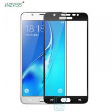 Защитное стекло Full Screen Samsung J7 Prime G610, G611 black тех.пакет