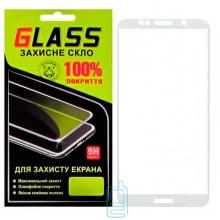 Защитное стекло Full Screen Huawei Y5 2018, Y5 Prime 2018, Y5 Lite 2018 white Glass