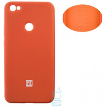Чехол Silicone Cover Full Xiaomi Redmi Note 5A, Redmi Note 5A Prime, Redmi Y1 оранжевый