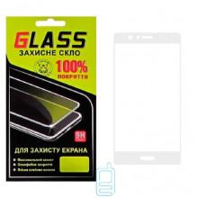 Защитное стекло Full Screen Huawei P9 white Glass