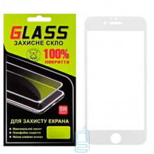 Защитное стекло Full Glue Apple iPhone 6 white Glass