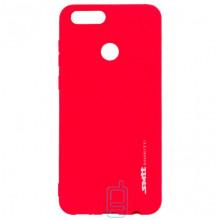 Чехол силиконовый SMTT Huawei Honor 7X красный
