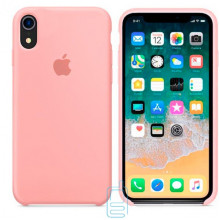 Чехол Silicone Case Apple iPhone XR персиковый 27