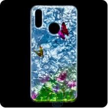 Чехол силиконовый Garden Huawei P Smart 2019, Honor 10 Lite бабочки