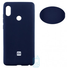 Чехол Silicone Cover Full Xiaomi Redmi Note 5, Redmi Note 5 Pro синий