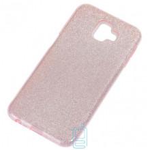 Чехол силиконовый Shine Samsung J6 Plus 2018 J610 розовый