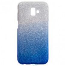 Чехол силиконовый Shine Samsung J6 Plus 2018 J610 градиент синий