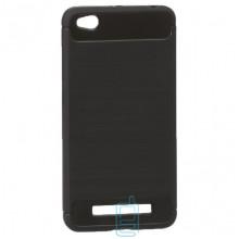 Чехол силиконовый Polished Carbon Xiaomi Redmi 4A черный