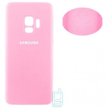 Чехол Silicone Cover Full Samsung S9 G960 розовый