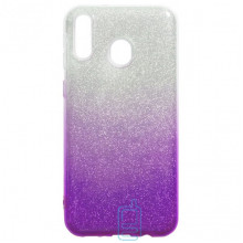 Чехол силиконовый Shine Samsung M20 2019 M205 градиент фиолетовый