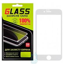 Защитное стекло Full Glue Apple iPhone 6 Plus white Glass