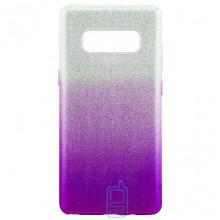 Чехол силиконовый Shine Samsung Note 8 N950 градиент фиолетовый