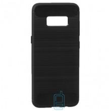 Чехол силиконовый Polished Carbon Samsung S8 G950 черный