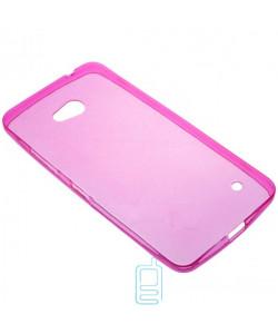 Чехол силиконовый цветной Nokia Lumia 640 розовый
