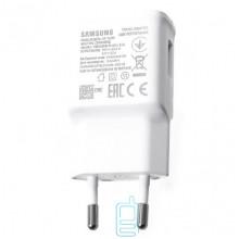 Сетевое зарядное устройство Samsung EP-TA200 Fast charger 5V-2A 9V-1.6A 1USB high copy white без коробки