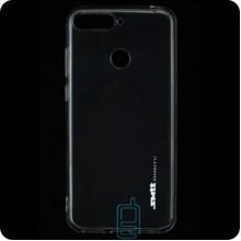 Чехол силиконовый SMTT Huawei Y6 2018, Y6 Prime 2018, Honor 7A Pro прозрачный