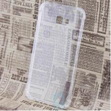 Чехол силиконовый Samsung A7 2017 A720 усиленный прозрачный