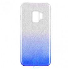 Чехол силиконовый Shine Samsung S9 G960 градиент синий
