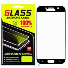 Защитное стекло Full Screen Samsung A5 2017 A520 black Glass
