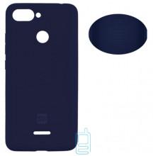 Чехол Silicone Cover Full Xiaomi Redmi 6 синий