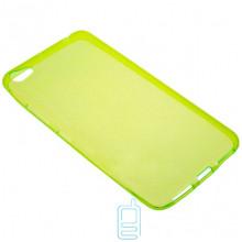 Чехол силиконовый цветной Lenovo S60 зеленый