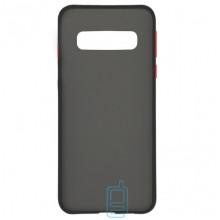Чехол Goospery Case Samsung S10 G973 черно-красный