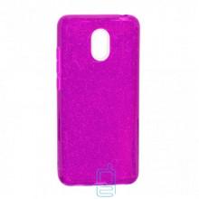 Чехол силиконовый Shine Meizu M6 фиолетовый