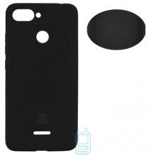 Чехол Silicone Cover Full Xiaomi Redmi 6 черный