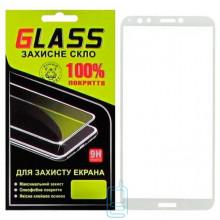Защитное стекло Full Screen Huawei Enjoy 8, Honor 7C Pro, Nova 2 Lite, Y7 2018, Y7 Prime 2018 white Glass