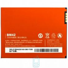 Аккумулятор Xiaomi BM42 3100 mAh Redmi Note AAAA/Original тех.пакет
