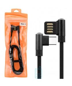 USB Кабель FWA04-TC Type-C тех.пакет черный