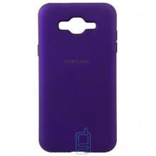 Чехол Silicone Case Full Samsung J2 Prime G532, G530 фиолетовый