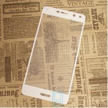 Защитное стекло Full Screen Huawei Y5 2017, Y6 2017 white тех.пакет