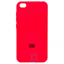 Чехол Silicone Case Full Xiaomi Redmi GO красный