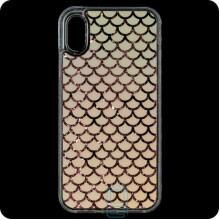 Чехол силиконовый Shining Apple iPhone X, XS