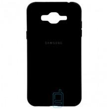 Чехол Silicone Case Full Samsung J2 Prime G532, G530 черный