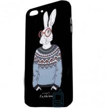 Чехол Creative TPU+PC Apple iPhone 7 Plus, 8 Plus Rabbit white