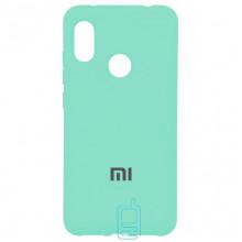 Чехол Silicone Case Full Xiaomi Redmi 6 Pro, Mi A2 Lite бирюзовый