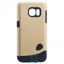 Чехол-накладка Motomo X4 Samsung S7 Edge G935 золотистый