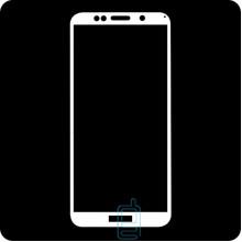 Защитное стекло Full Glue Huawei Y5 2018, Y5 Prime 2018, Y5 Lite 2018 white тех.пакет
