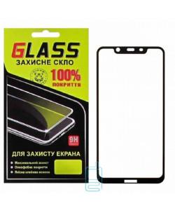 Защитное стекло Full Glue Nokia 8.1 black Glass