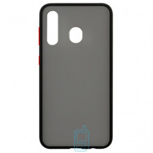 Чехол Goospery Case Samsung A20 2019 A205, A30 2019 A305 черно-красный