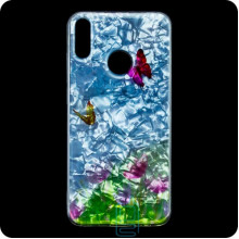Cиликон Garden Xiaomi Redmi 7 бабочки