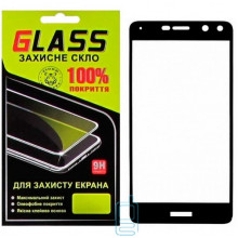 Защитное стекло Full Screen Huawei Y5 2017, Y6 2017 black Glass
