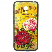 Чехол накладка Flower Case Meizu M3 Note Springfield Rose