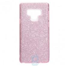 Чехол силиконовый Shine Samsung Note 9 N960 розовый