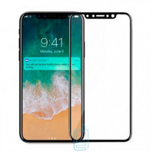Защитное стекло 5D Apple iPhone X, iPhone XS black тех.пакет